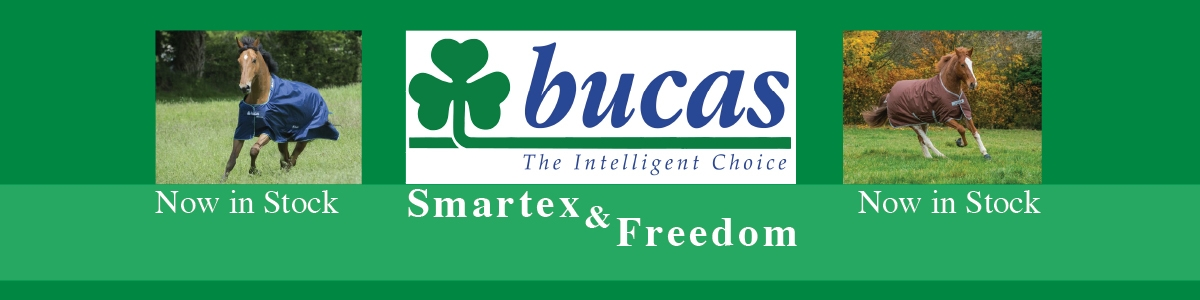 Bucas Smartex and Freedom Rugs now in Stock!