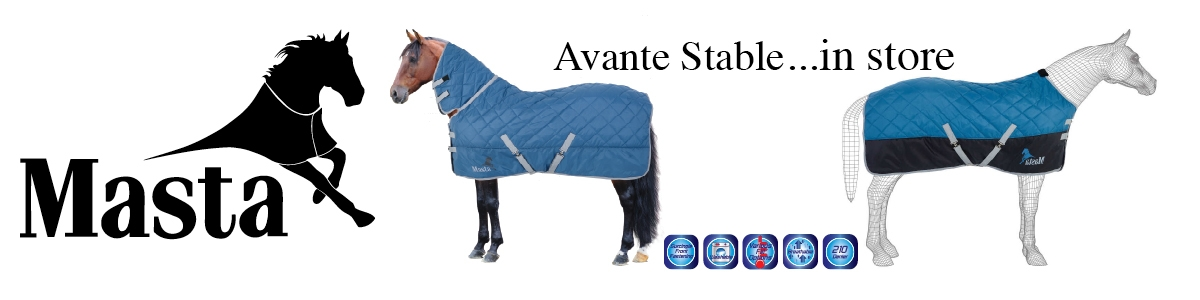 Masta Avante Stable rugs in store now at The Riding Habit Eastry
