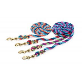 Shires Topaz Tri-Colour Lead Ropes
