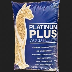 White Horse Platinum Plus Animal Wood Pellets